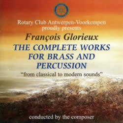The Complete Works for Brass and Percussion (double CD) cover