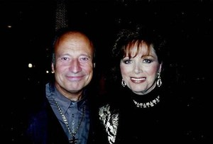Jackie Collins and Francois Glorieux