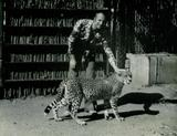 Francois Glorieux with Cheetah